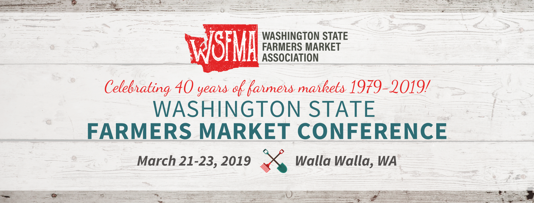 2019 WSFMA Conference - Washington Farmers Market